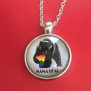 Jewelry - Mama Bear LBGTQ NECKLACE
